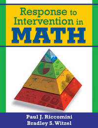 Response to Intervention in Math by Paul J. Riccomini image