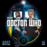Doctor Who 2017 Square Wall Calendar