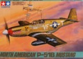 Tamiya: 1/48 North American P-51B Mustang - Model Kit
