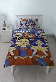 DC Superheros Duvet Set - Single image