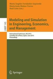 Modeling and Simulation in Engineering, Economics, and Management