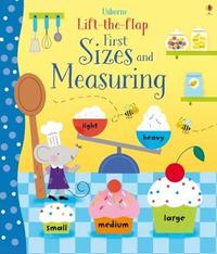 Lift-the-Flap First Sizes and Measuring by Hannah Watson