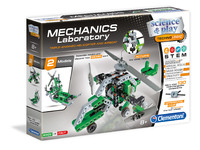 Clementoni: Mechanics Lab - Helicopter & Airboat