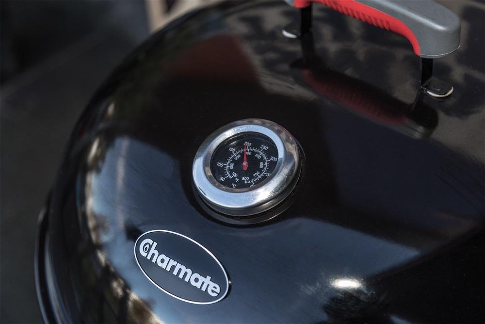 """Charmate Corona Premium 22"""" Charcoal Kettle BBQ image"""