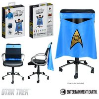 Star Trek: The Original Series Sciences Blue Uniform Chair Cape