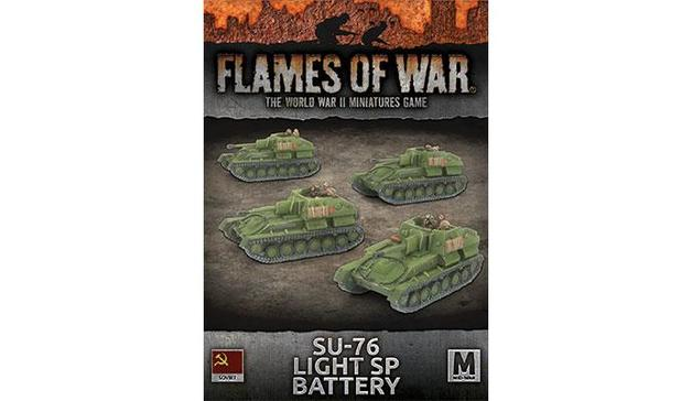 Flames of War: SU-76 Light SP Battery