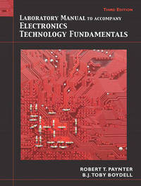 Laboratory Manual for Electronics Technology Fundamentals by Toby Boydell image