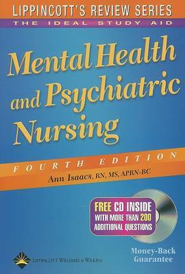 Mental Health and Psychiatric Nursing by Ann Isaacs image