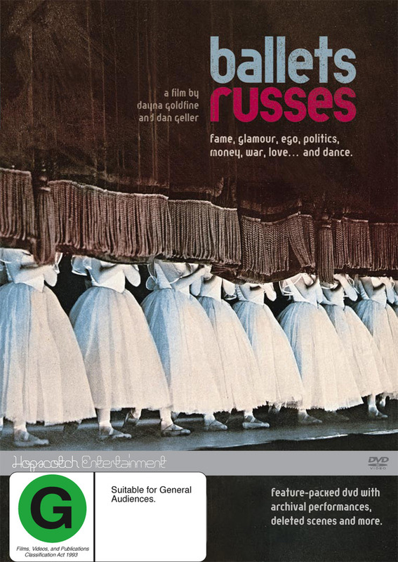 Ballets Russes on DVD