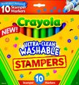 10 Ultra Clean Expression Stamper Markers - Crayola