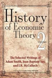 History of Economic Theory by Adam Smith