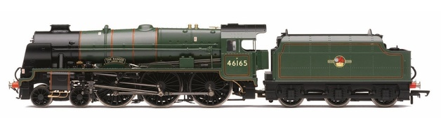 Hornby: Late BR 4-6-0 'The Ranger' '46165' Royal Scot Class