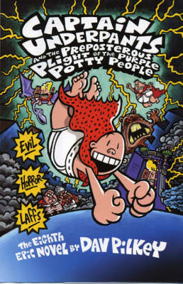 Captain Underpants and the Preposterous Plight of the Purple Potty People by Dav Pilkey image