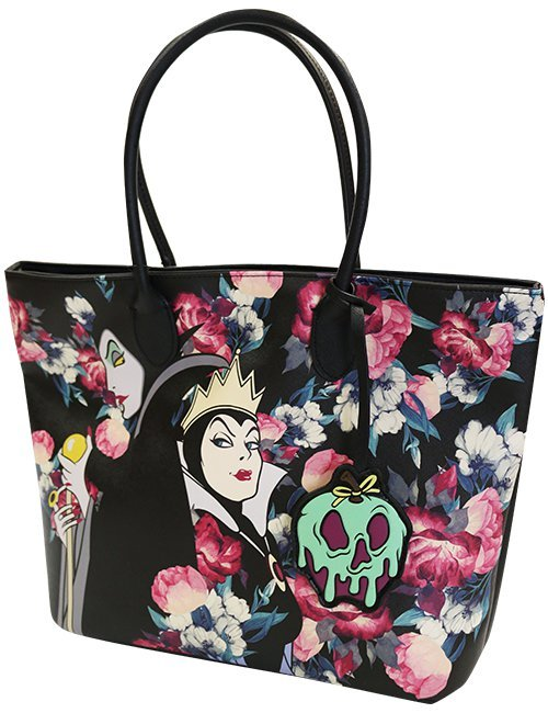0473cad042a Loungefly  Disney Villains - Floral Tote Bag image ...
