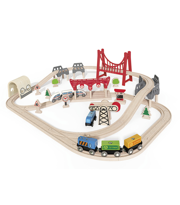 Hape: Double Loop Railway Set