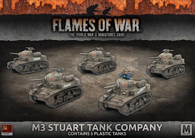 M3 Stuart Company (Plastic)