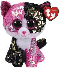 TY Beanie Boo: Flip Malibu Cat - Small Plush