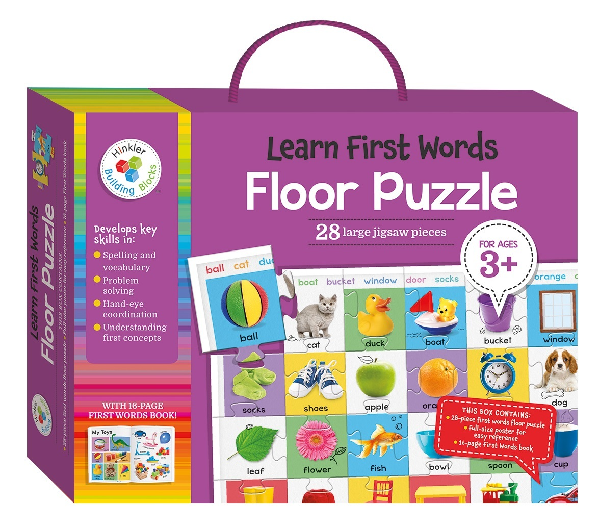 Hinkler: Learn First Words - Floor Puzzle image