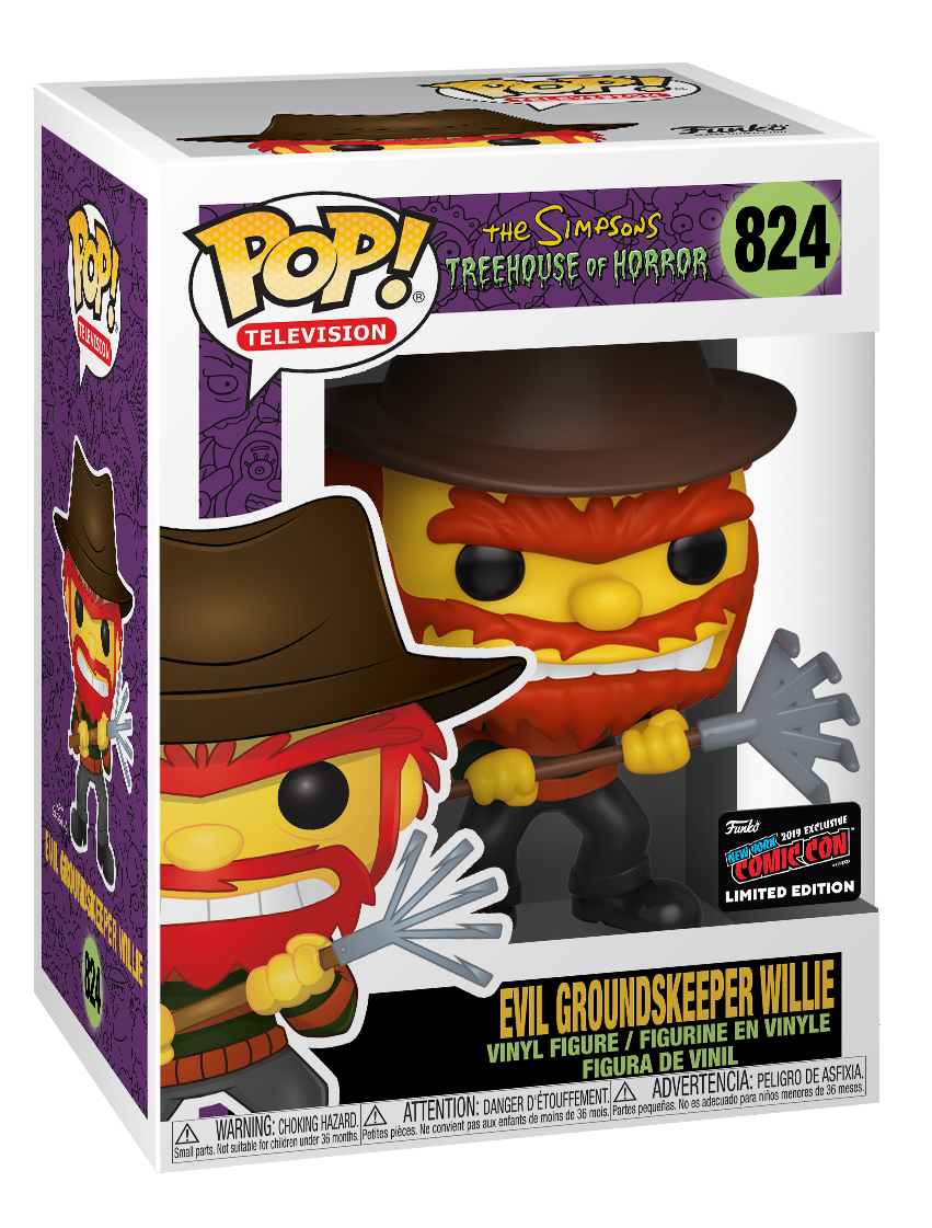The Simpsons - Groundskeeper Willie (Evil ver.) Pop! Vinyl Figure image