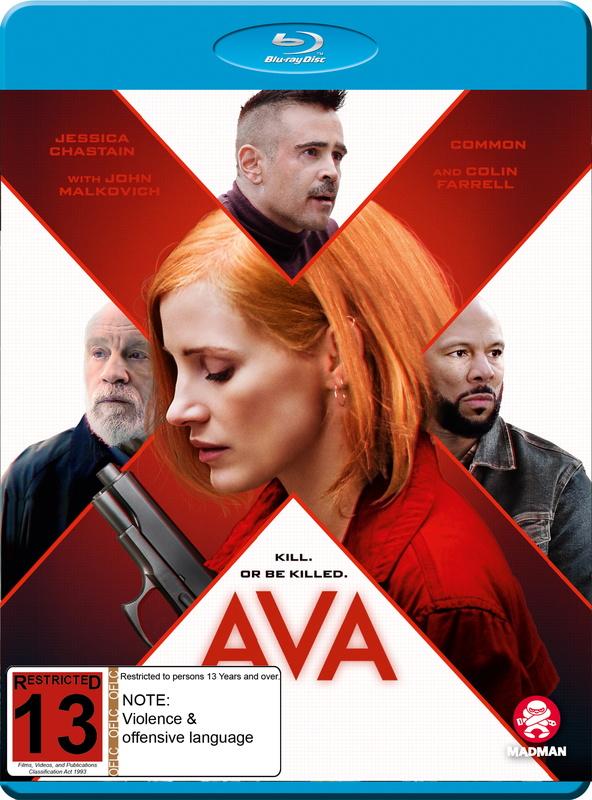 Ava (2020) on Blu-ray