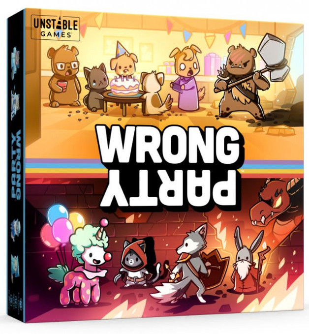 Wrong Party - Card Game