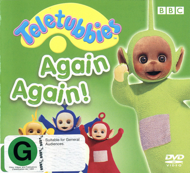 Teletubbies - Again Again! on DVD