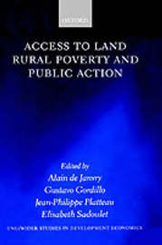 Access to Land, Rural Poverty, and Public Action