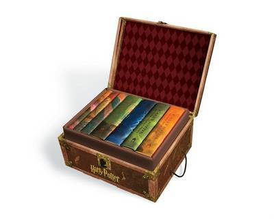 Harry Potter Hardback Complete Boxed Set (luggage box) by J.K. Rowling