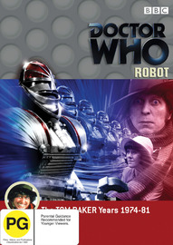 Doctor Who: Robot on DVD image