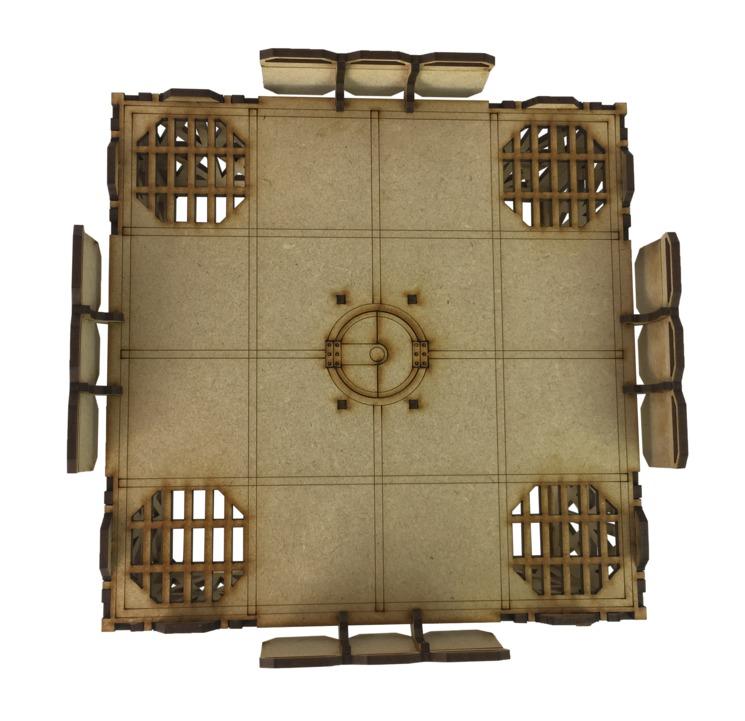 TTCombat: Tabletop Scenics – Sector 1 Large Platform image
