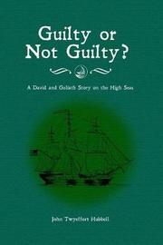 Guilty or Not Guilty? by John Twyeffort Hubbell image