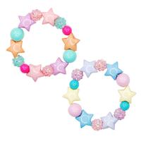 Pink Poppy: Pastel Sparkel Star Bracelet - (Assorted Designs)