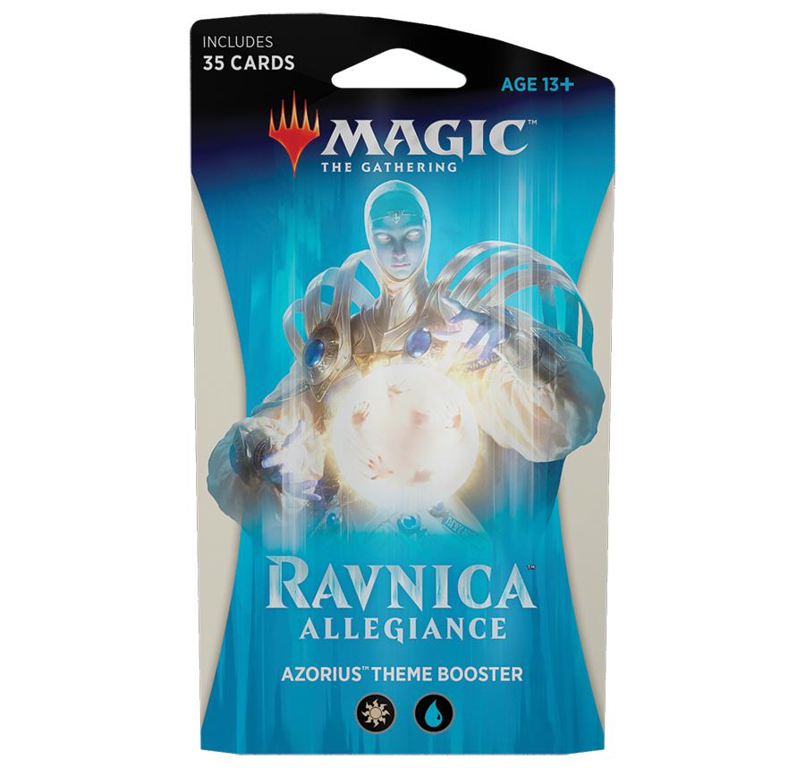 Magic The Gathering: Ravnica Allegiance Theme Booster: Azorius image