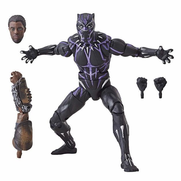 """Marvel Legends: Black Panther (Vibranium) - 6"""" Action Figure"""