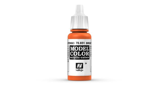 Vallejo Model Colour Bright Orange 17ml