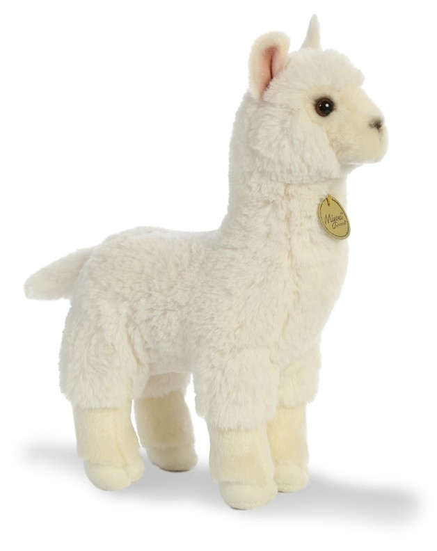 "Aurora: 11"" Miyoni Plush - Alpaca"