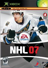 NHL 07 for Xbox