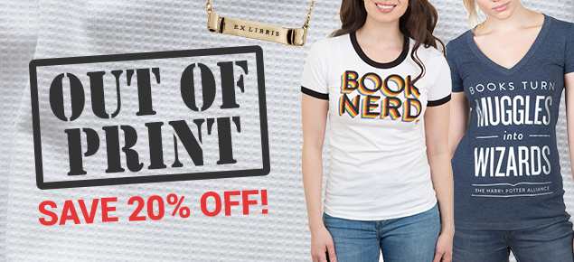 20% off Out of Print