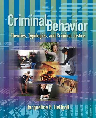 Criminal Behavior by Jacqueline B Helfgott image