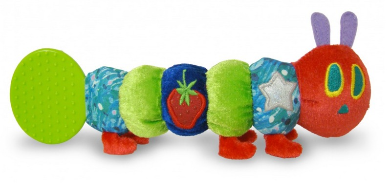 The Very Hungry Caterpillar - Teether Rattle image