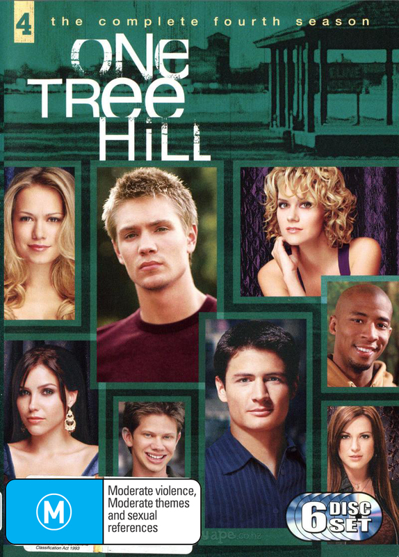 One Tree Hill - The Complete 4th Season on DVD