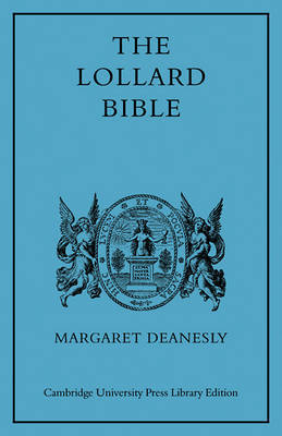 The Lollard Bible by Margaret Deanesly image