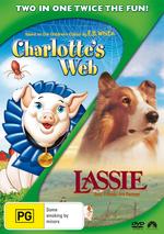 Charlotte's Web (1973) / Lassie (1994) (2 Disc Set) on DVD