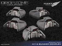 Dropzone Commander: M116 Bunker Complex - Scenery Pack