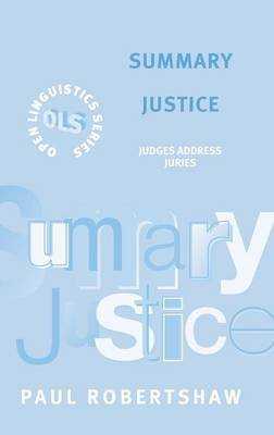 Summary Justice by Paul Robertshaw image