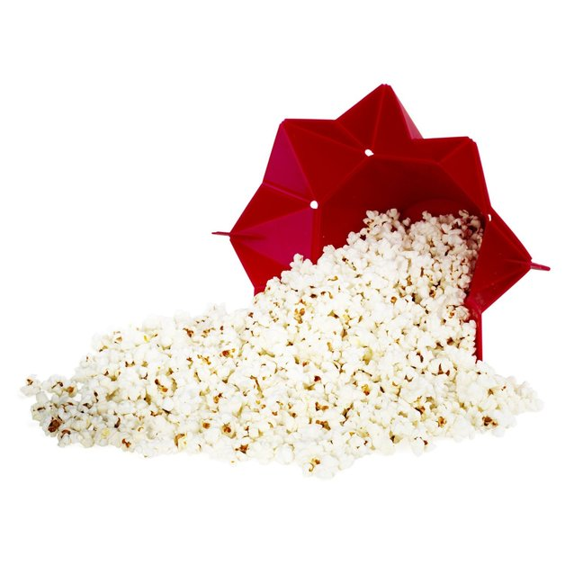 Chef'n PopTop Microwave Popcorn Popper (Cherry)