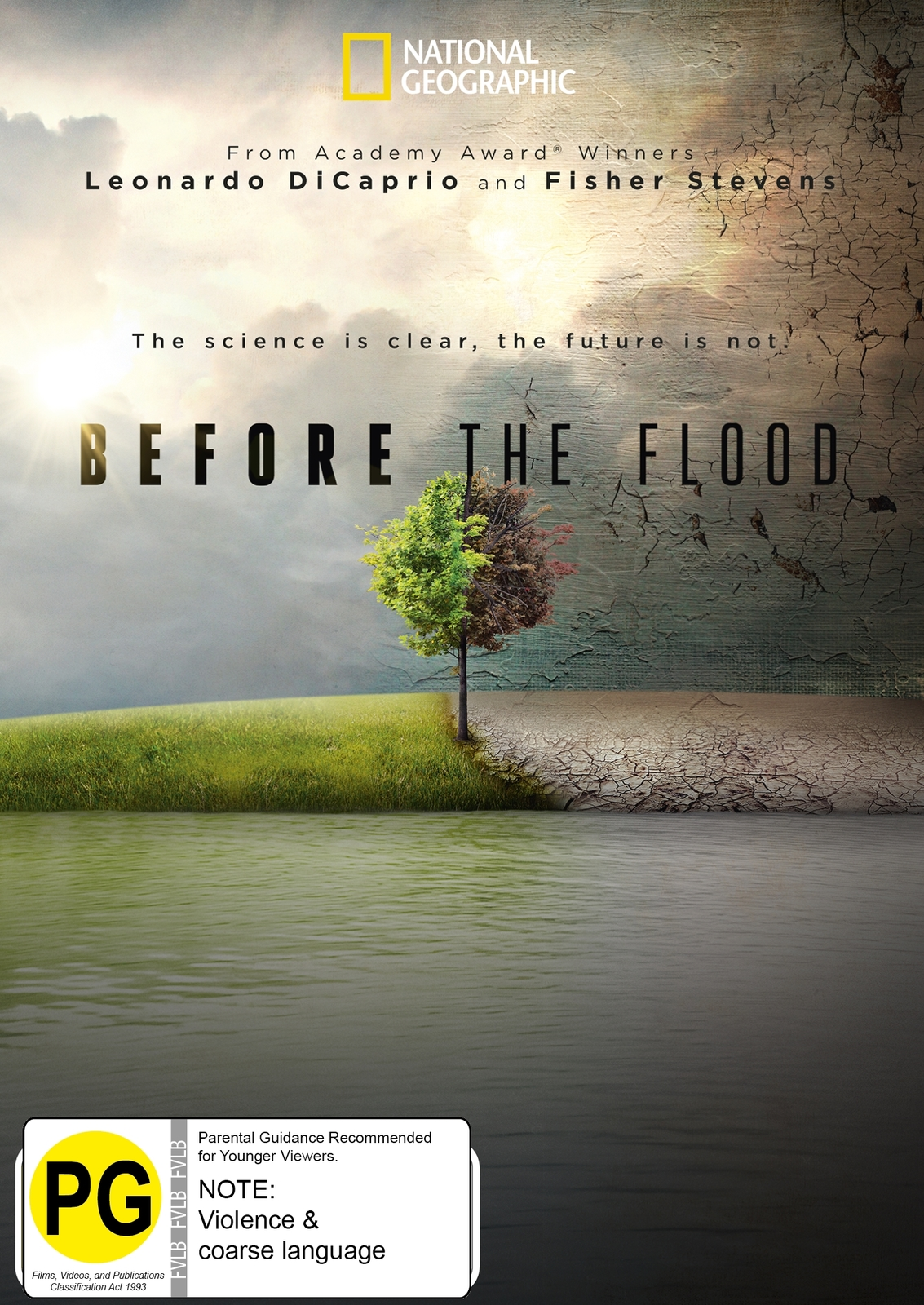 Before the Flood on DVD image