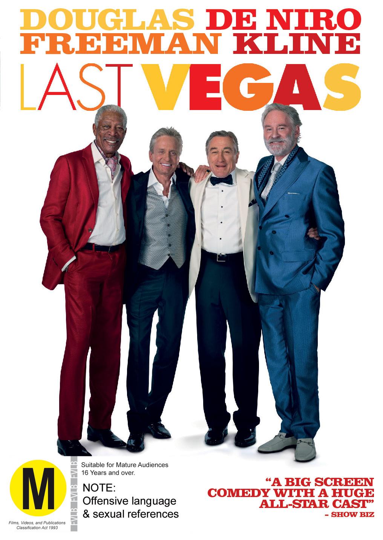 Last Vegas on DVD image