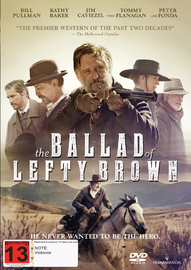 The Ballad Of Lefty Brown on DVD