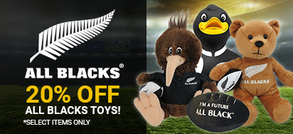 20% off All Blacks Toys!